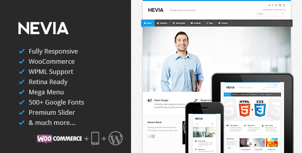 Nevia-WordPress-Theme